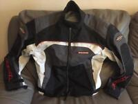 Ixon summer motorcycle jacket LARGE