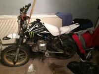 110 pitbike fully working