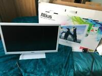 Almost new Altius LED TV DVD Player Combi with inbuilt freeview £50