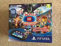 PS Vita Console with Lego Action Heroes Mega Pack + 8GB Memory Card + Carry Case