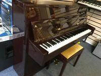 Waldstein Piano and Stool (Used but like new ) Polished Mahogany