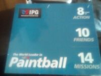 Paint-balling tickets for 10 people - valid until 08/2018
