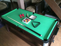 Pool table w/ air hocky