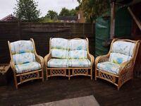 Wicker patio/ conservatory furniture