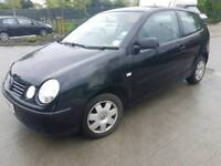 Volkswagen POLO TWIST 1.2 Petrol 3drHatchback 2004 Manual Black Low mileage Full services History.