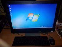 Dell Optiplex 9010 All-in-one dual Core, 24-inch wide Monitor,4GB RAM,250GB Hard Drive,Webcam