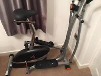 V FIT CROSS TRAINER AND BIKE