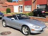 Mazda MX-5 1.8 S 2dr£499 NOT USED FOR 4 YEARS !! 2000 (W reg), Convertible