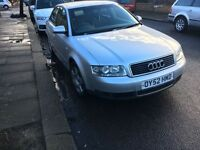 Audi a4 1.9 tdi 1 mot year