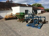 Used Farm machinery wanted.