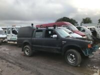 Ford Ranger jeep double cab breaking doors wheels axel springs
