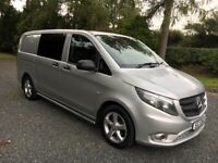 2017 Mercedes Vito 116 Sport 5 Seat - Only 69000 Miles
