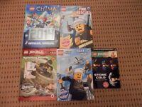 5 Lego Books