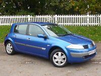 2005 (05) Renault Megane 1.6 VVT Dynamique |NEW TIMING BELT | FULL HISTORY | 12 MONTHS MOT