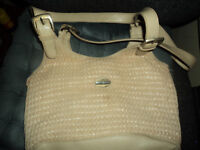 Beig ladies bag used in very good condition.