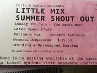 2x Little Mix summer shout out @ Ageas Bowl (Southampton) on 9th july