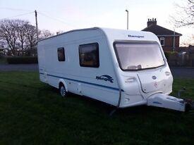 bailey ranger 550/6 6 berth family caravan £4895