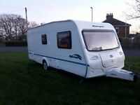 bailey ranger 550/6 6 berth family caravan £4895