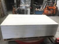 17 sheets of Glasroc 2000 x 1200 x 30 mm