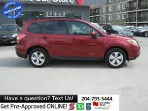 2014 Subaru Forester 2.5i Touring SUNROOF bluetooth HTD SEAT bac