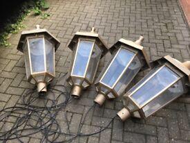 Art Deco style lamps
