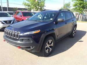 2016 Jeep Cherokee Trailhawk  Keyless Entry Camera Leather