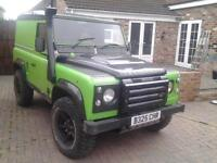 land rover defender 90 galvanised chassis