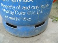 Carlor Gas Bottle