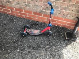 Kids Spider-Man scooter
