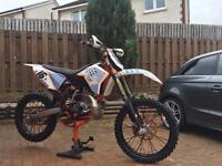 PRICED LOWERED!! NO OFFERS Ktm 07/08 200sx 2stroke