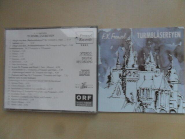F.X.Frenzel/Turmbläsereyen 22 Track/CD