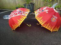 Fire rescue children's umbrellas