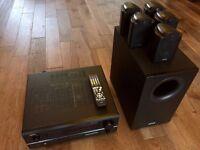 Denon AVR-1803 7.1 AV Amplifier + Tannoy FX 5.1 Surround Speaker System