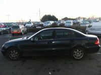 2004 04 MERCEDES-BENZ E CLASS 1.8 E200 KOMPRESSOR CLASSIC 4D 163 BHP***GUARANTEED FINANCE***PART EX