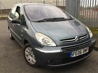 Citroen Xsara Picasso 1.6HDi 2006 + FULL SERVICE HISTORY + MOT TILL JUNE 2017 + 1 KEEPER FROM NEW