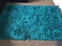 Lovely teal rug