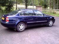 2003 Volkswagen Passat 1.9 Tdi Blue
