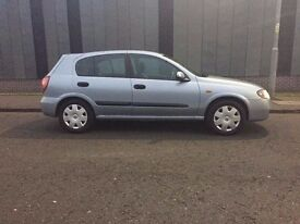 2005 NISSAN ALMERA MOTD READY TO DRIVE AWAY