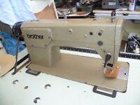 Brother Industrial lockstitch/Flatbed sewing machine