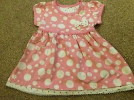 Marks and Spencer baby girls dress. 3-6 months
