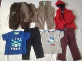 Baby Boy Clothes Size 12 to 18 Months old