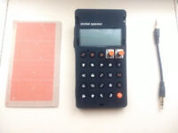 Teenage Engineering Pocket Operator PO-16 Factory + Official Pro Case + Sync Cable + PunchCard