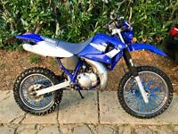 Yamaha DT 125 RE 2 stroke super moto off road 2005 crosser for sale  Horsham, West Sussex
