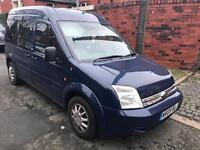 2008 08reg Ford Transit Connect Tourneo 1.8 Tdci 8 Seater Blue