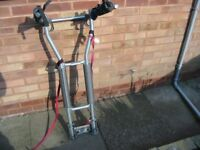 Halfords tow bar mounted cycle carrier
