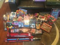 AN ASSORTMENT OF NEW UNUSED TOYS