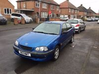 TOYOTA AVENSIS 12 MONTHS MOT, central locking and family car with great engine