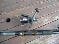 2pc CARP FISHING ROD AND REEL