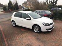 2011 VW Golf GT TDI Bluemotion 2.0 140 5dr Diesel White Tax £30 6 Speed Manual Auto Start Stop