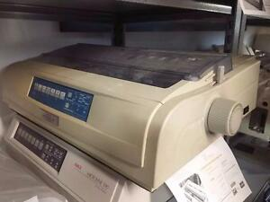 Okidata 491 Microline Dot Matrix Forms Printer D22230A USB/Parallel